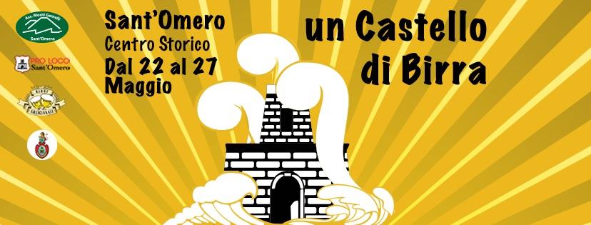 """Eventi Abruzzo: """"Un Castello di Birra 2018"""" a Sant'Omero"""